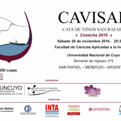 II edición de CAVISAR Cata de vinos - San Rafael