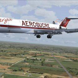 Avión de carga se accidentó y murió su piloto