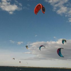 Corrocho kiteboarding