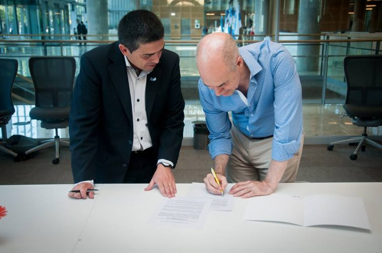 Marcolini y Larreta firmaron acuerdo