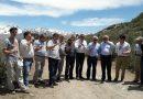 Visitaron futuro emplazamiento del tunel Paso Las Leñas