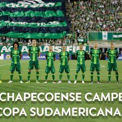 Chapecoense fue declarado campeón de la Copa Sudamericana