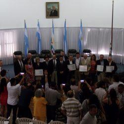 El HCD homenajeó a los Concejales de la vuelta de la democracia
