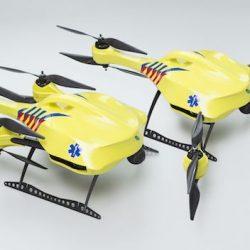 Drones para salvar vidas