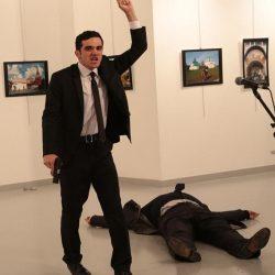 Asesinaron al embajador ruso en Turquía, Andrei Karlov