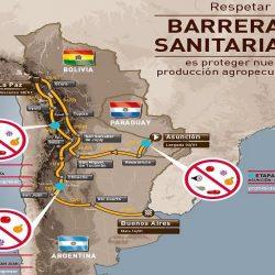 Senasa controla recorrido del Rally Dakar Paraguay-Bolivia-Argentina 2017