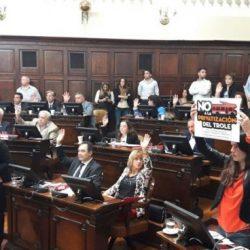 El Senado aprobó privatización de los Troles