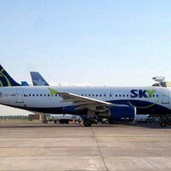Sky Airline inauguró su ruta Mendoza-Santiago de Chile