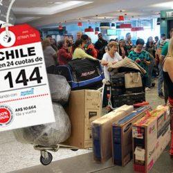 Chile invadida por argentinos
