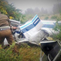 Cuatro muertos tras caer un avión en Chile