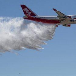 Avión cisterna más grande del mundo combatirá incendios forestales en Chile