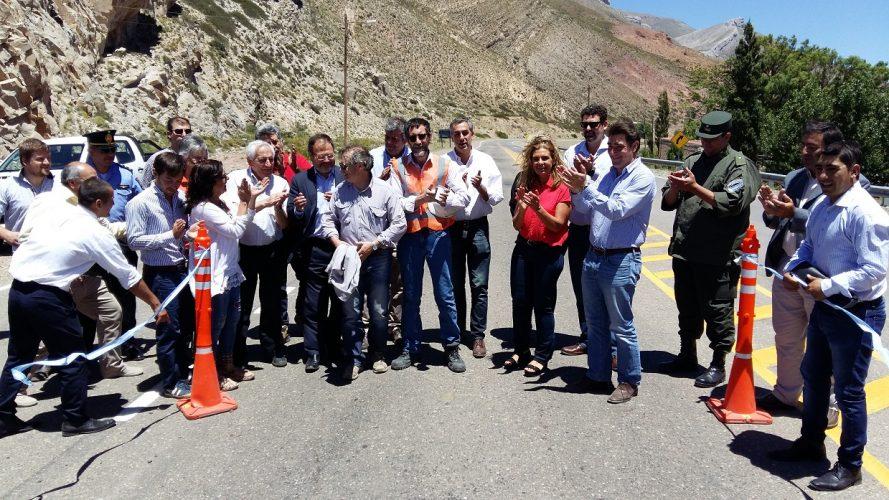 Inauguraron formalmente el Paso Pehuenche