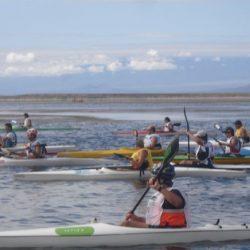 Regata de Kayak en El Nihuil