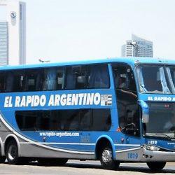 ¿Se vende la empresa de transporte El Rápido Argentino?
