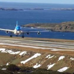 Aerolíneas Argentinas evalúa volar a las Islas Malvinas