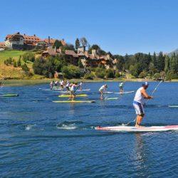 1º fecha del Circuito Nacional de Stand Up Paddle en Bariloche