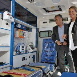 Mendoza tiene diez ambulancias nuevas
