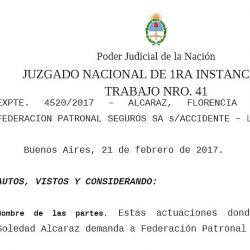 Juez declaró la inconstitucionalidad del DNU que modifica ley de ART