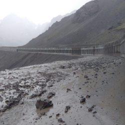El mal tiempo sigue en la alta montaña Video....