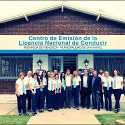 Inauguraron oficina de emisión de licencias nacionales de conducir