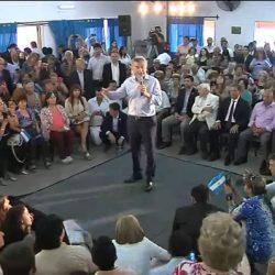 Escracharon a Macri en San Luis