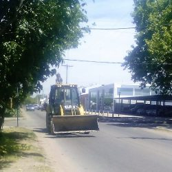 Máquina vial utilizada a diario como movilidad en la calle