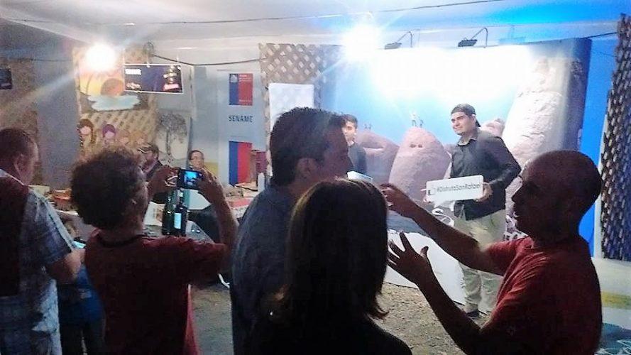 San Rafael se promociona en Talca-Chile