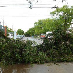 Intensa tormenta de viento, lluvia y granizo afectó la ciudad de Río Cuarto