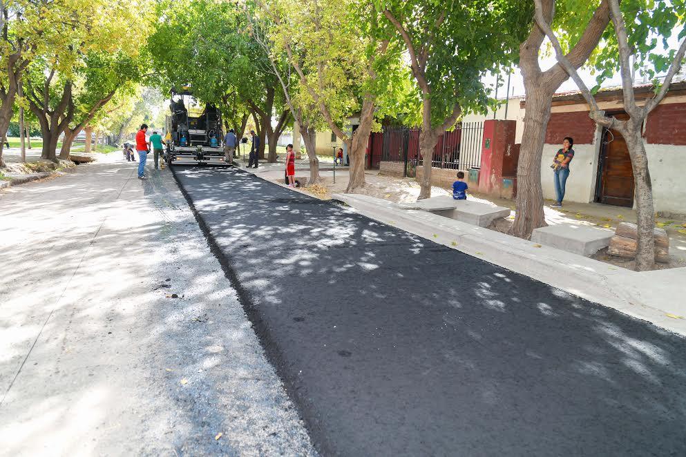 Se asfalta en b ruca hue y se vienen pavimentos en m s for Pavimentos y suministros del sur