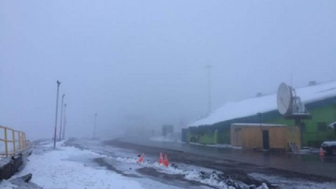 Libertadores y Pehuenche cerrados por la nieve