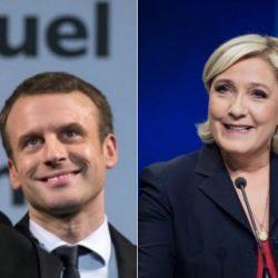 Elecciones en Francia: Macron y Le Pen, a balotaje
