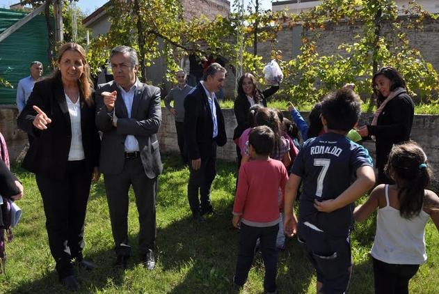 Cornejo puso en funcionamiento el nuevo hogar de Casa Cuna Pre
