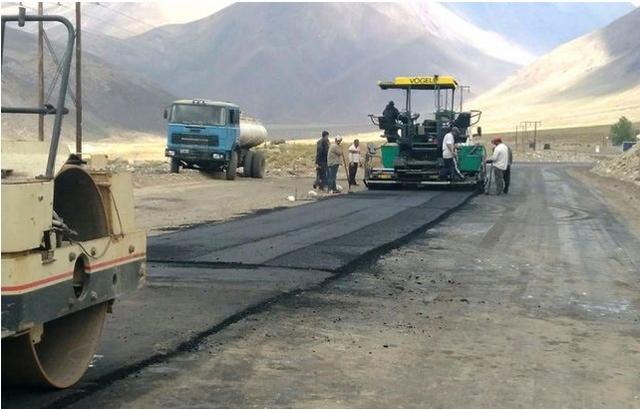 Obras viales en San Rafael,  General Alvear y Malargüe