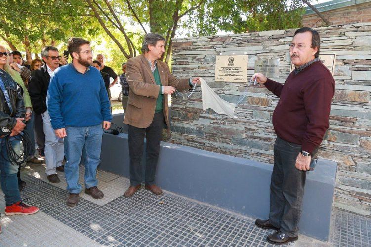 Inauguraron la Plaza Floreal Gorini