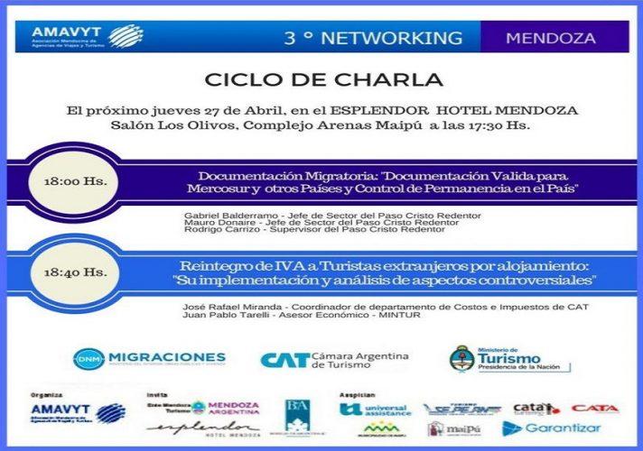 El sector turístico mendocino se reunirá en un Networking & After