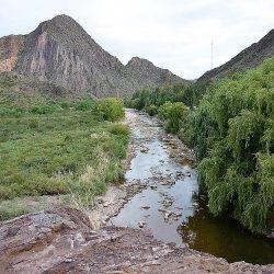 Prestadores de Turismo disconformes por falta de agua del Atuel