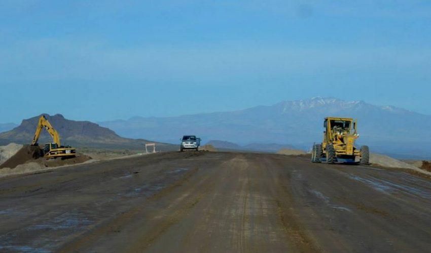 Resultado de imagen para obras de asfalto en la ruta Alvear-Malargue