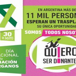 Mendoza tendrá su semana de concientización sobre donación de órganos