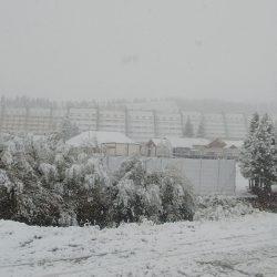 Nieva en Las Leñas