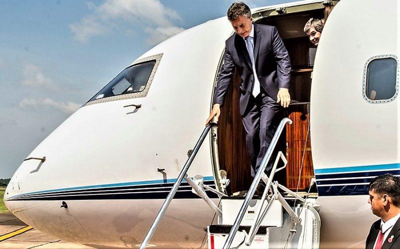 Macri llega a Malargüe
