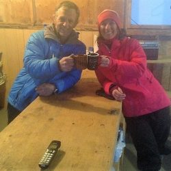 Rescataron sanrafaelina del Monte Logan en Canadá