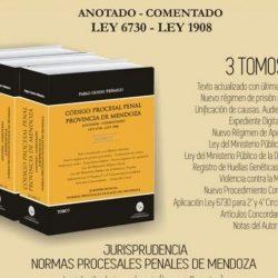 Presentan Código Procesal Penal de la Provincia de Mendoza comentado