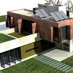 Eco-arquitectura: proponen descuento en aforos y tasas en construcciones sustentables