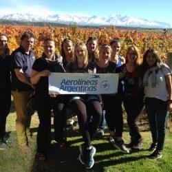Operadores turísticos alemanes recorren Mendoza