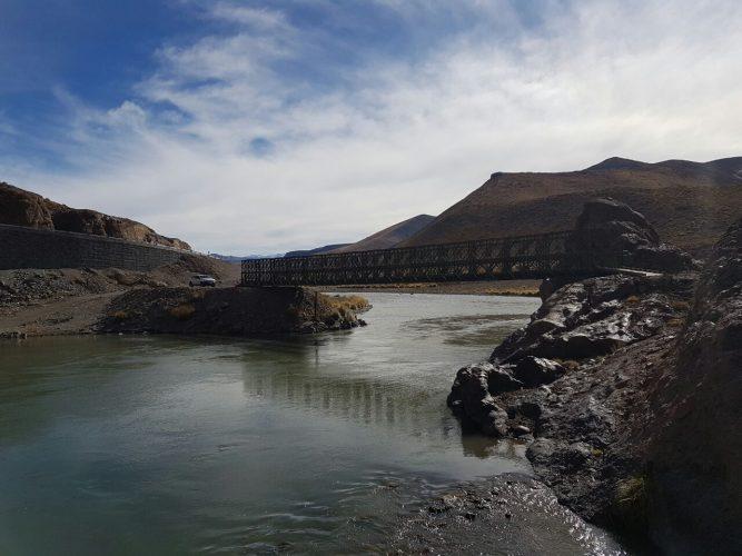 Portezuelo del Viento: finalizó la construcción del puente Bailey