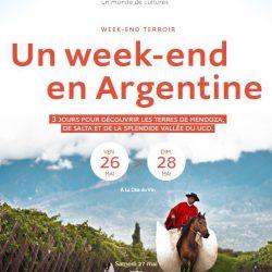 """Un fin de semana en Argentina"" en Burdeos, Francia"