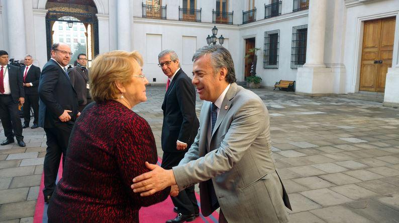 En Chile Cornejo ratificó los avances del proyecto del paso Los Libertadores