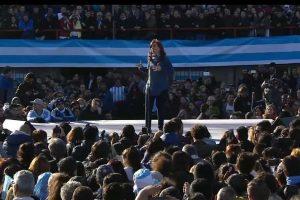 Cristina candidata a Senadora Nacional