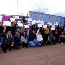 Alumnos del Aula Taller Móvil de informática egresaron en Salto de las Rosas