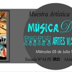 Muestra de Música, Danza, Teatro y Artes Visuales del IRIS